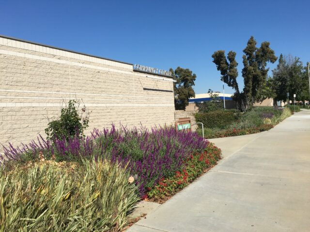 City of Brea Community Center Low-Water-Use Landscaping Project.